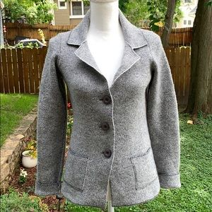 COCOGIO - Made in Italy Wool Blend Blazer